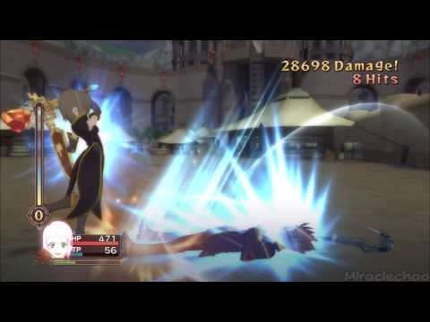 Tales of Vesperia (PS3) - Estellise (Lv.5) vs. Yeager (Mini-Boss) [Unknown Mode]