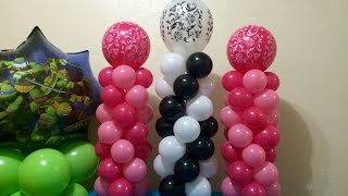 getlinkyoutube.com-Easy Mini Balloon Columns!