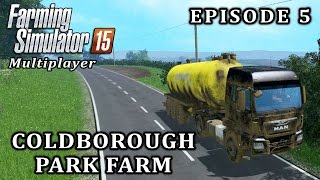 getlinkyoutube.com-Farming Simulator 2015 Multiplayer   Coldborough Park Farm   Episode 5