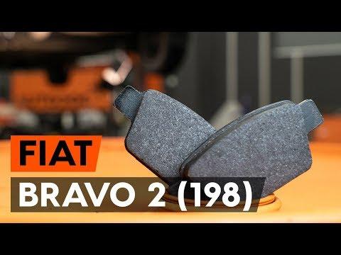 Как заменить задние тормозные колодки на FIAT BRAVO 2 (198) (ВИДЕОУРОК AUTODOC)