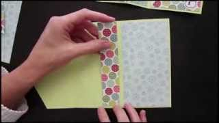 getlinkyoutube.com-Upright Diamond Fold Card