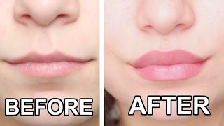 TOP 10 LIP HACKS! HOW TO GET BIGGER LIPS NATURALLY!