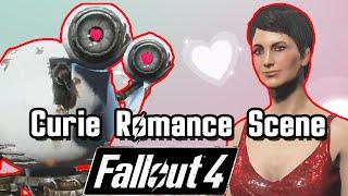 getlinkyoutube.com-All Curie Romance & Date Scene| Fallout 4 Companion Mission