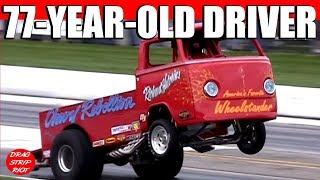 2010 Gasser Nationals Richard Hutchins Chevy Rebellion Wheelstander Nostalgia Drag Racing Videos