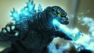 IAmElemental's Courage VS Godzilla Stop motion