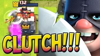 getlinkyoutube.com-CLUTCH EXECUTIONER ! CLOSEST OVERTIME BATTLE EVER in Clash Royale