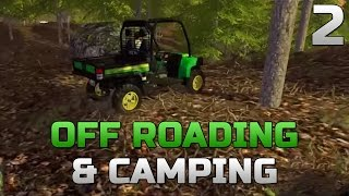 getlinkyoutube.com-Farming Simulator 2015- Duramax and Power Stroke Off Roading/Camping Part 2