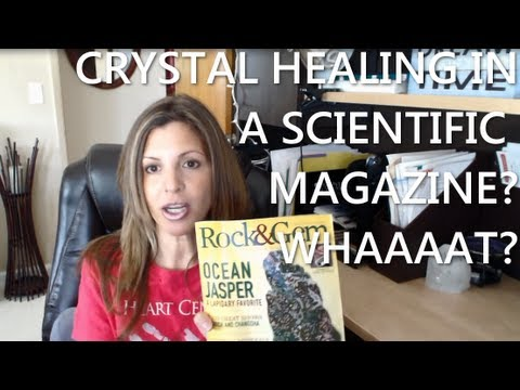 Crystal Healing in a Scientific Journal? Yeah Baby!