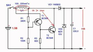 getlinkyoutube.com-Boost voltage converter ranging from 1.5 to 15 ...