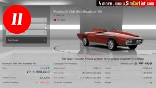 "getlinkyoutube.com-Gran Turismo 6 Best Cars ""Top 20"""