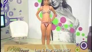 """getlinkyoutube.com-Desfile da loja LUA E FLOR lingerie """"NU LUXE"""". Parte1"""