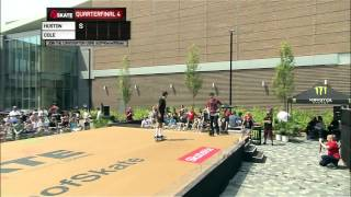 getlinkyoutube.com-Xgames Game of Skate Quarterfinals Nyjah Huston vs  Chris Cole