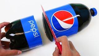 getlinkyoutube.com-How to Make HUGE TWO LITER Gummy Pepsi Cola Bottle Fun & Easy Make Your Own Jello Dessert!