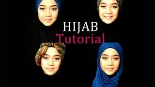 Hijab Tutorial - Long Scarf