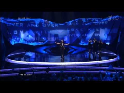 Roberto Bellarosa  ''Love Kills'' (Belgium) Eurovision 2013 FINAL