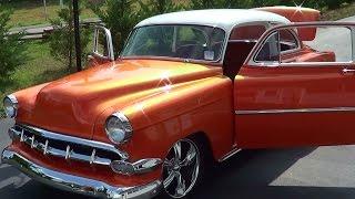getlinkyoutube.com-1954 Chevrolet Two Door Post Street Rod