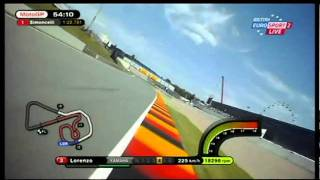 getlinkyoutube.com-Casey Braking/Lorenzo Onboard Sachsenring 2011