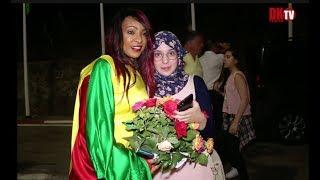 Jeux Africains 2018 Viviane Chidid en Compagnie des autorités d'Algerie et du Senegal