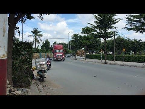 """TP.HCM: Xe container hoành hành khu dân cư Cát Lái, cư dân """"cầu cứu"""" lãnh đạo thành phố"""