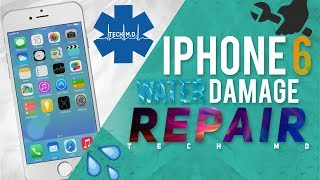 getlinkyoutube.com-iPhone 6 Water Damage Repair Tech MD 6-20-2015
