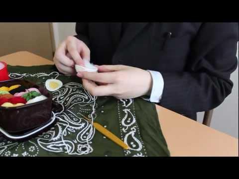 [Amigurumi] The man who crochets lunch [Bento]