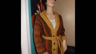 getlinkyoutube.com-Crochet abrigo o cardigan para el otoño - con  Ruby Stedman
