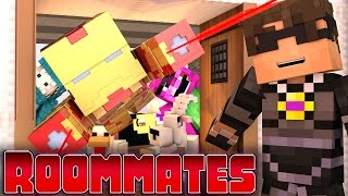 "Minecraft ROOMMATES! - ""Iron Man Madness"" #1(Minecraft Roleplay)"