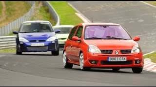 getlinkyoutube.com-Clio II RS / Focus RS MK1 / Focus RS MK2 Nurburgring Nordschleife