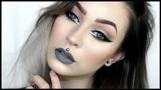 getlinkyoutube.com-Big Sexy Eyes & Grey Lips | Evelina Forsell