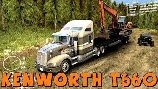 getlinkyoutube.com-Spin Tires | Kenworth T660 | Biggest Semi Truck Yet! | Download Link In Description