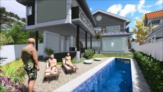 getlinkyoutube.com-Arquitetura - Projeto Residência Unifamiliar / SketchUP e Lumion