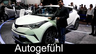 getlinkyoutube.com-Toyota C-HR crossover hybrid first Exterior/Interior review Paris Motor Show