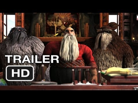 Rise of the Guardians - Official Trailer #1 - Alec Baldwin MOVIE (2012) HD
