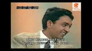 "getlinkyoutube.com-Shiv Kumar Batalvi Interview singing ""Kee Puchde"" must watch - CinemaPunjabi.com"