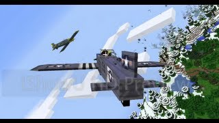 getlinkyoutube.com-Minecraft Flans mod: Air and Ground battles