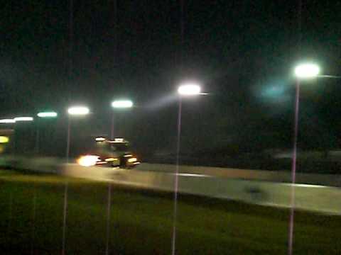 Night of Fire - Jet Cars Drag Race - semi truck fly by
