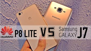 Samsung Galaxy J7 vs Huawei P8 Lite - Camera Comparison HD