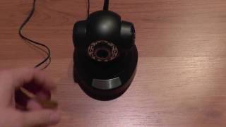 getlinkyoutube.com-720p HD IP Camera P2P - unboxing, set up, install and configure (on Android and PC)