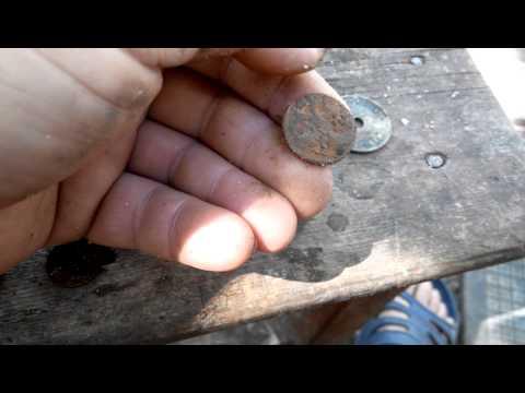Металлоискатель Excalibur и находки пляжного копа