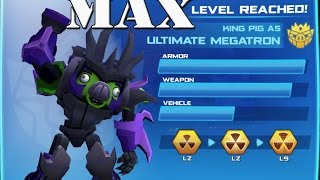 getlinkyoutube.com-Angry Birds Transformers - Ultimate Megatron Max Level