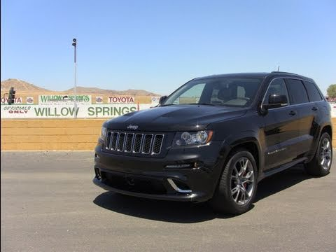 Track Time: The 2012 Jeep Grand Cherokee SRT8 tears up the race track