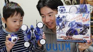 getlinkyoutube.com-ばちこ〜ん(・∀・) DXマシンフーディー&フーディーニゴーストアイコン 仮面ライダーゴースト