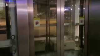 getlinkyoutube.com-Esplanade MRT Station - Toshiba Traction Elevator (Street Level - Concourse)