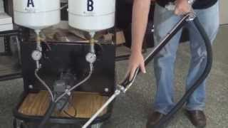 US Saws Dual Component Polymer Joint Filler Pump