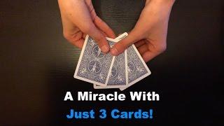 getlinkyoutube.com-3 Cards: Amazing Simple Card Trick Revealed!