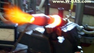 getlinkyoutube.com-BIG HHO burners industrial WATER is the FUEL