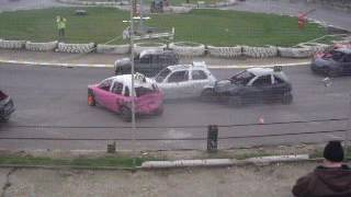 Micro Bangers East Coast Championship Part 1 Skegness Stadium 19/03/17.