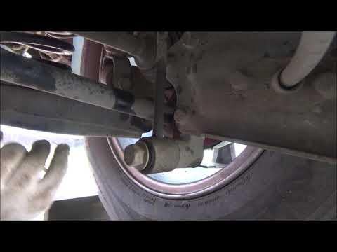 Расположение втулки стабилизатора в Hyundai Grandeur