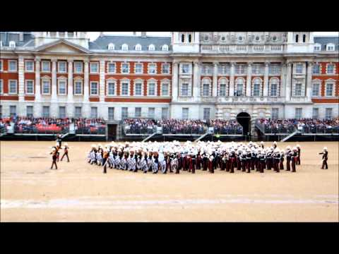 Massed Bands of H.M. Royal Marines Beating Retreat 2012 part 2