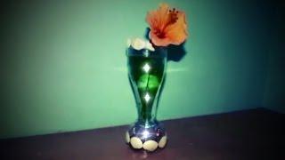getlinkyoutube.com-Cara Membuat Vas Bunga Berlampu Dari Botol Plastik Bekas